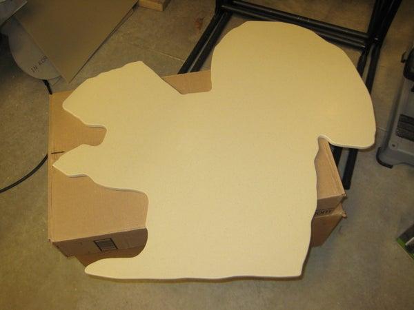 Custom Solid Surface Cutting Board