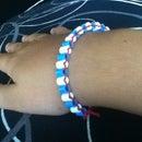 Perler Bead 4th Of July Bracelet!