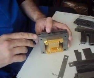 HOW TO REASSEMBLE a TRANSFORMER'S CORE
