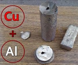 DIY Aluminum Bronze. One of the Hardest Bronzes