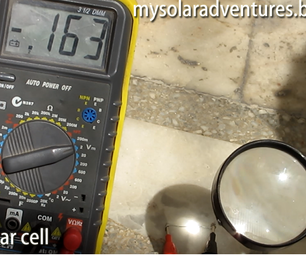 How to Make  Low Cost Solar Panel - Using a Silicon Diode As a Solar Cell
