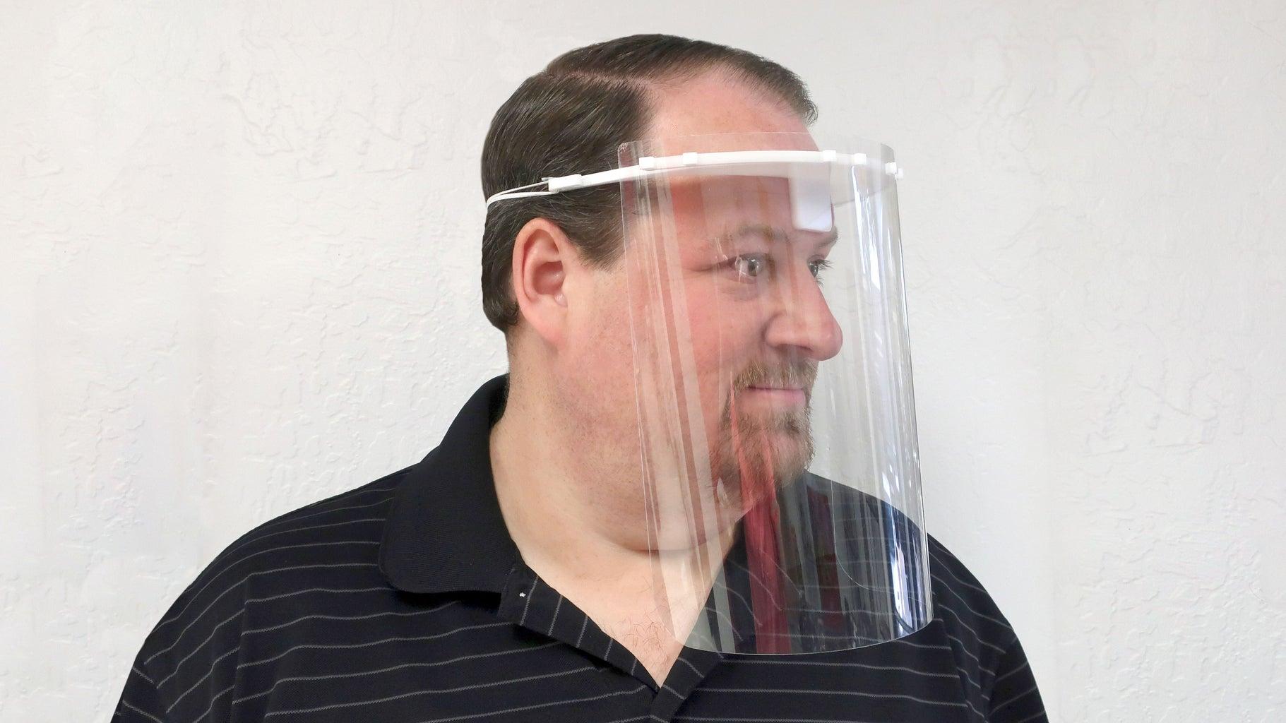 Assemble the Face Shield
