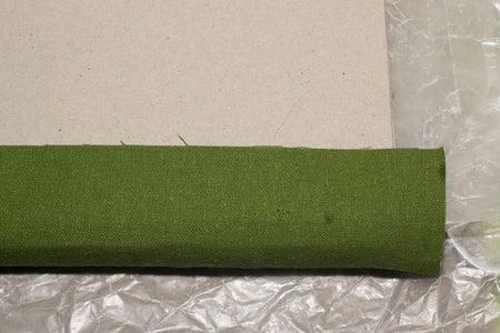 Glue Bookcloth to Bookboard Covers