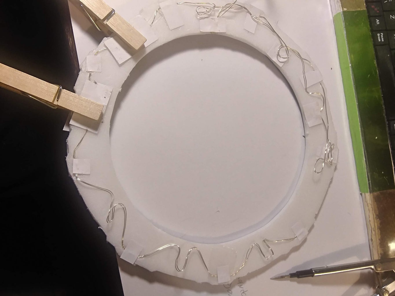 Adding LEDS to the Ring