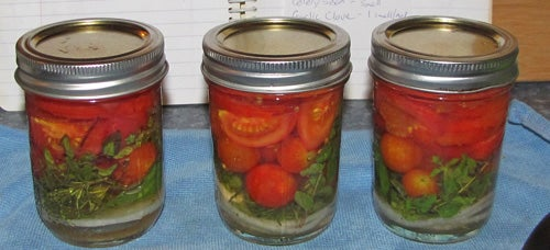Yippy!!!! Pickled Tomatoes!