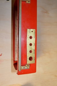 Drill the Holes for the Knobs Etc