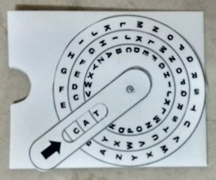 Dial Card for 3 Letter Word Practice