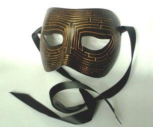Maze Ball Mask (laser Cut)
