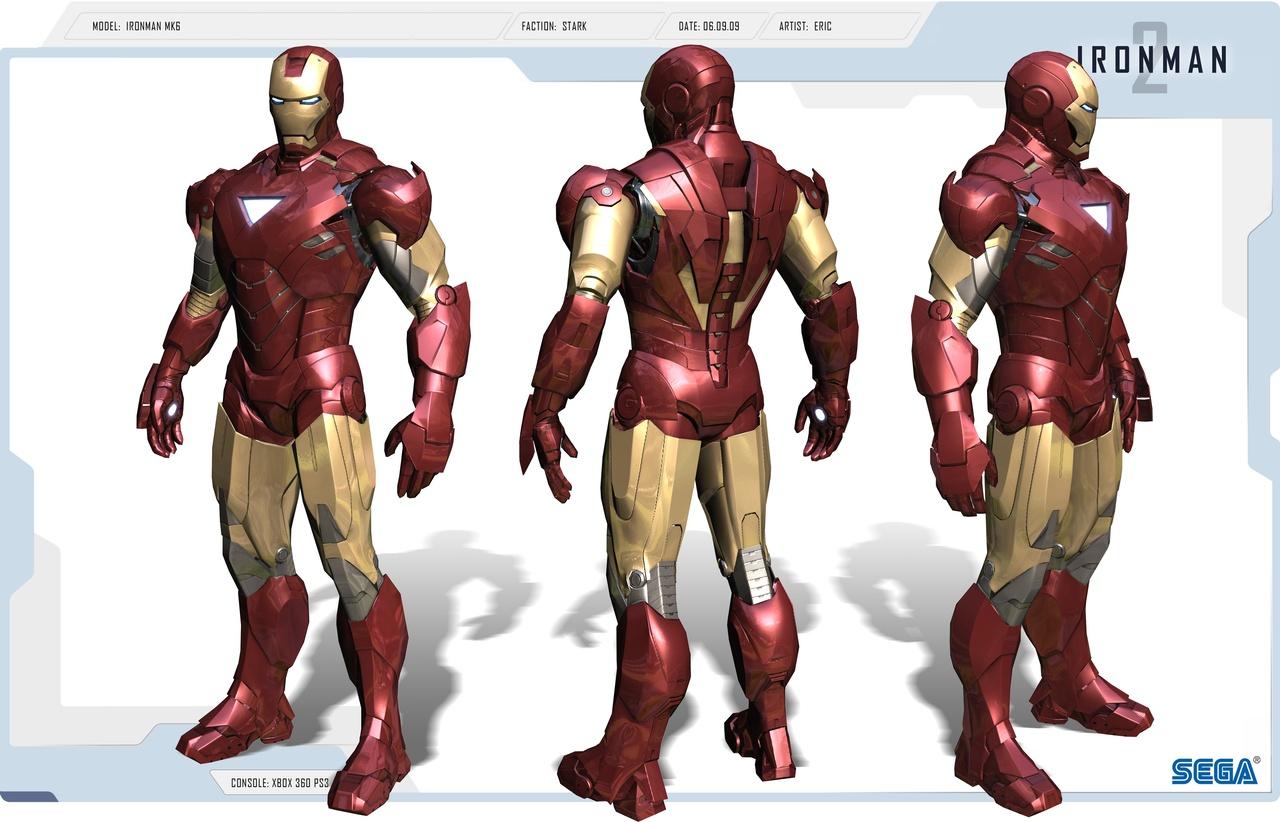 IRONMAN MKVI Suit (in Progress)