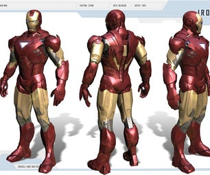 IRONMAN MKVI Suit (in Progress)