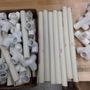 PVC CHAIR materials (insert material picture)