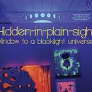 Hidden-in-plain-sight Window to a Blacklight Universe
