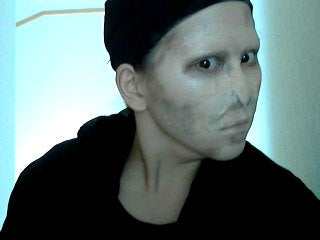 Lord Voldemort - No Special Effect Make Up Used