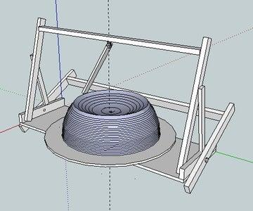 Modify Sphere-cutting Jig for Base