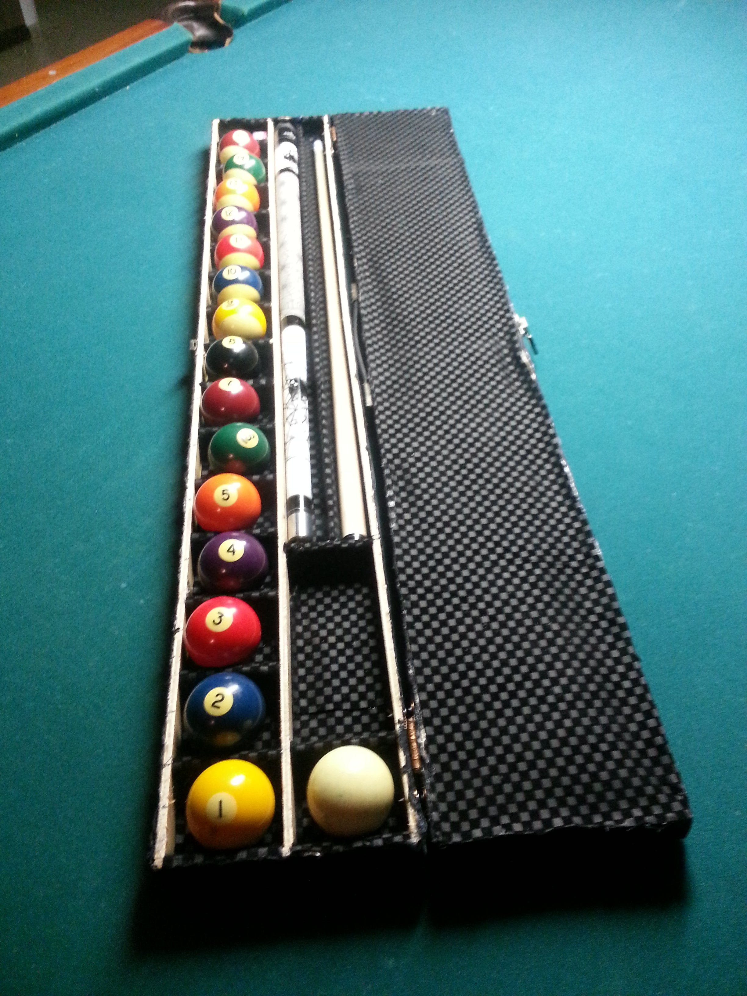 """DIY Project Billiard #6 Ball Standard Size 2-1//4/""""  Style Cue Replacement"""