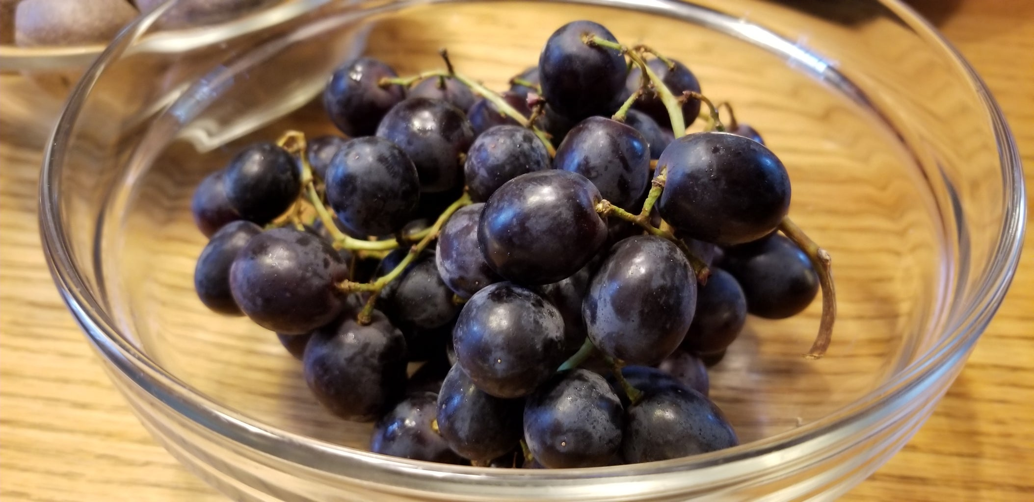Pour a Glass of Violet Goodness and Grab Some Grapes