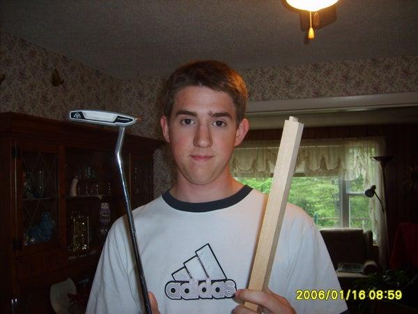 Wooden Golf Putter