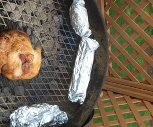 Veggie Grate for Beer Can Chicken