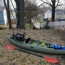 DIY Fishing Rod Storage Crate