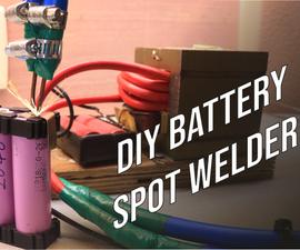 DIY Battery Spot Welder!
