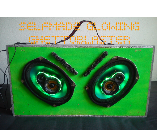 SELFMADE GLOWING GHETTOBLASTER