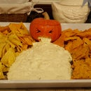 Vomiting Pumpkin OR How to Serve Nachos at Helloween