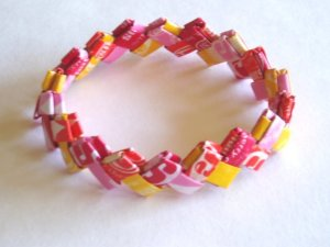 Starburst Wrapper Bracelet.