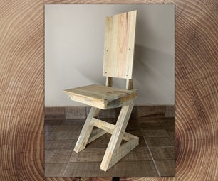 DIY Leftover Wood Chair