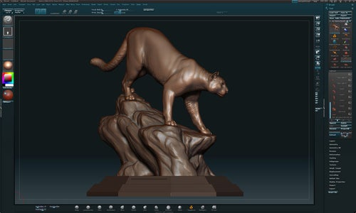 Creating Master in Zbrush