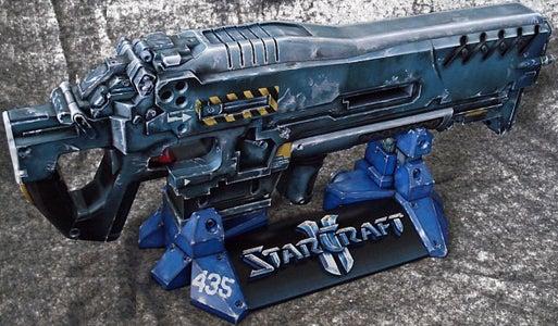 Marine Cannon Paper Model