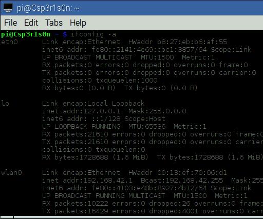 Raspberry Pi - Web Server / Wireless Access Point (WAP)