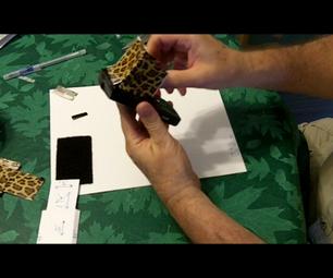 Make a Duct Tape LCD Screen Hood for a Kodak Zi8 Video Camera