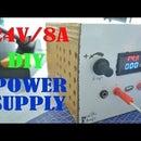 DIY High Power Bench Power Supply : 85W