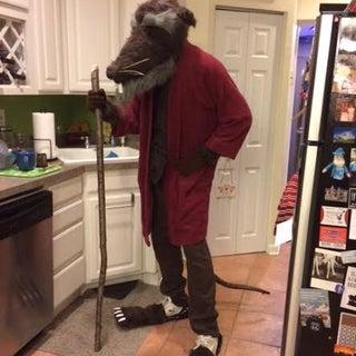 "How to Make a TMNT: ""Splinter"" Costume"