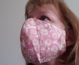 Comfortable Face Mask in Easy Steps  Pattern Included