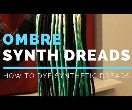 How to Color Synthetic Dreadlocks