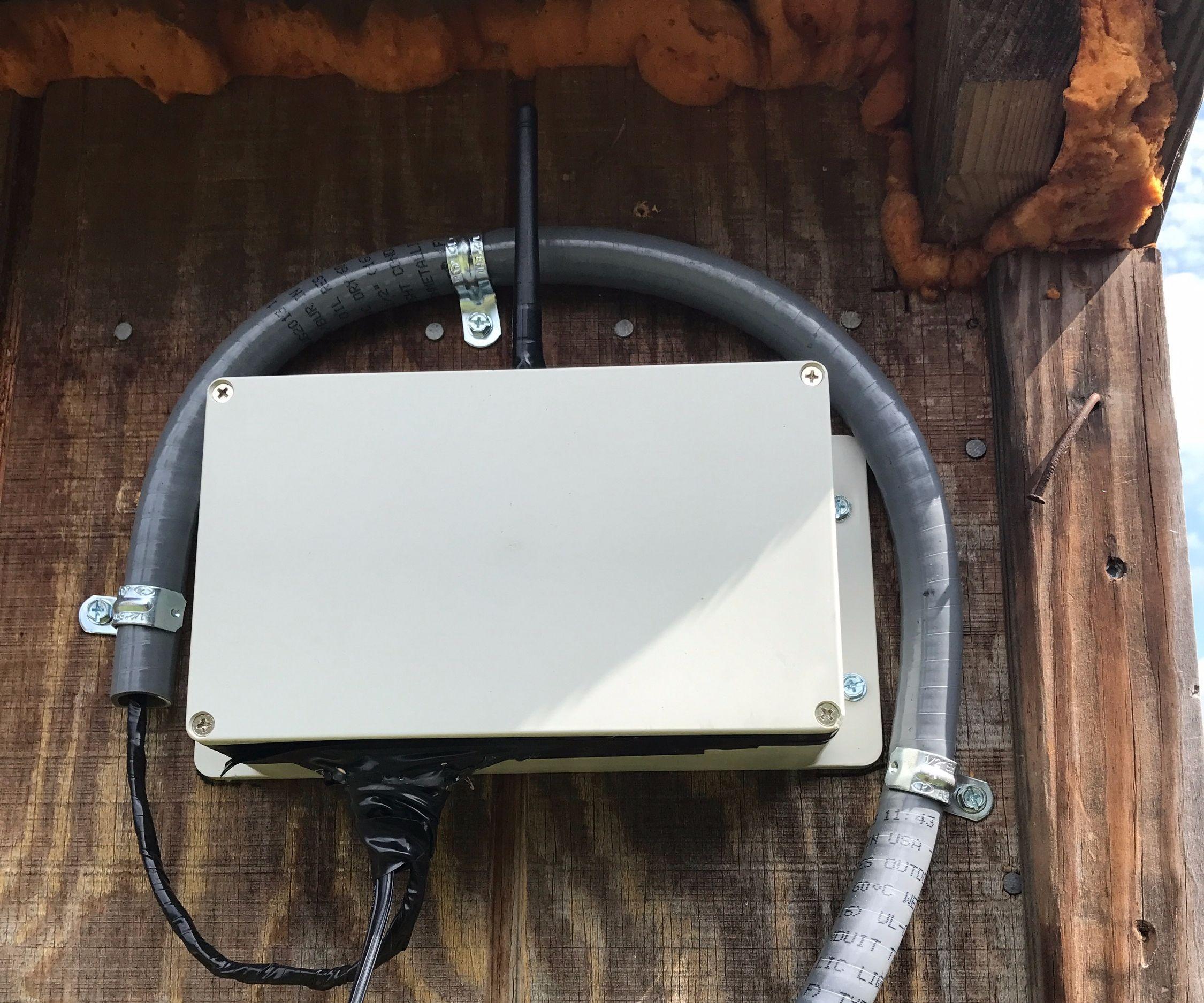 IoT Outdoor Pet Door