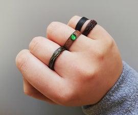 String Rings! (Super Easy)
