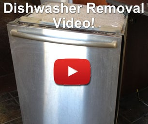 Dishwasher Removal How To