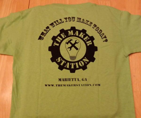 DIY T-shirt Screen Printing