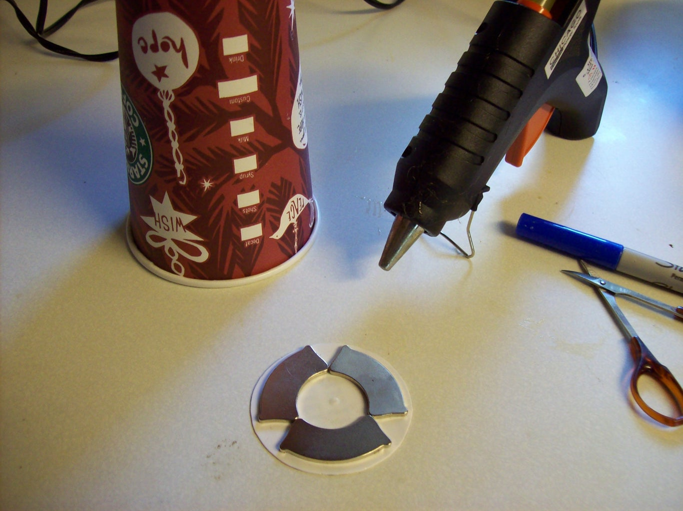 Attaching the Magnets
