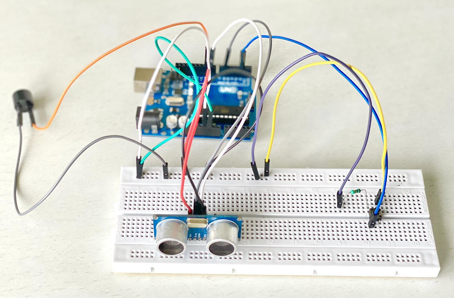 Building the Project on a Breadboard