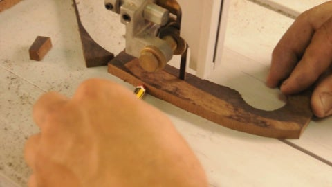 We Trim the Blade Draw, We Can Do It With the Elements We Have in Our Garage.