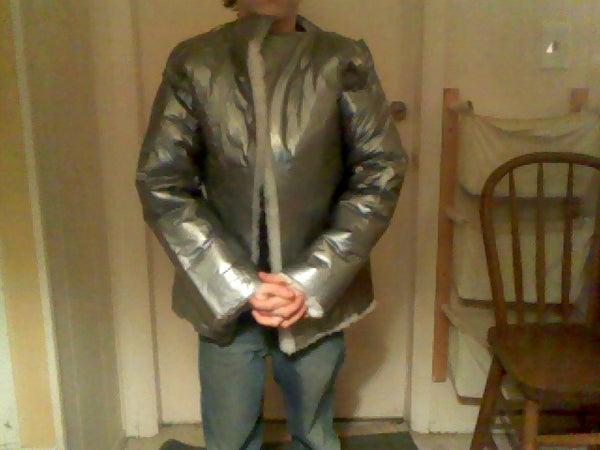 Insulated Duct Tape Winter Coat