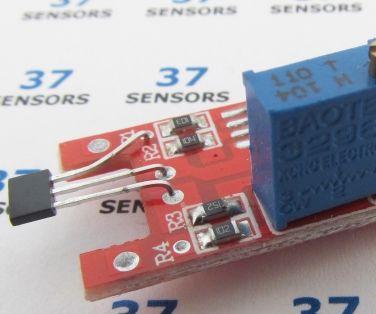 Using Analog Hall-Effect From 37 Sensors Kit