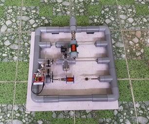 基于GRBL的水管绕线机