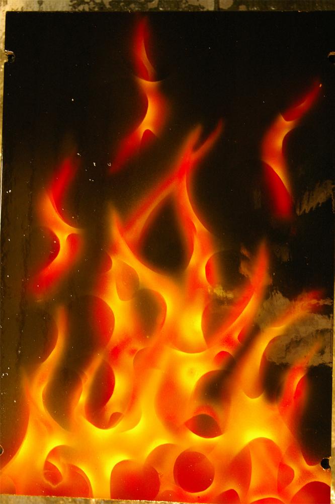 True Fire - airbrushing, airbrush, true fire