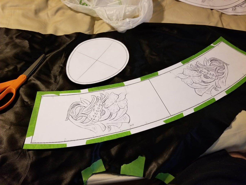 Making a Hat Liner