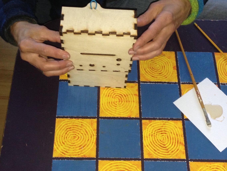 Glue and Reassemble Box