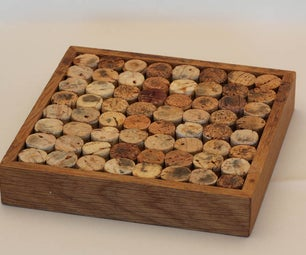 Trivet From Recycled Wine Corks